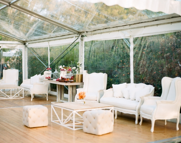 Clear Marquee brings the outdoors in, any day. Photo: We Are Origami Photography