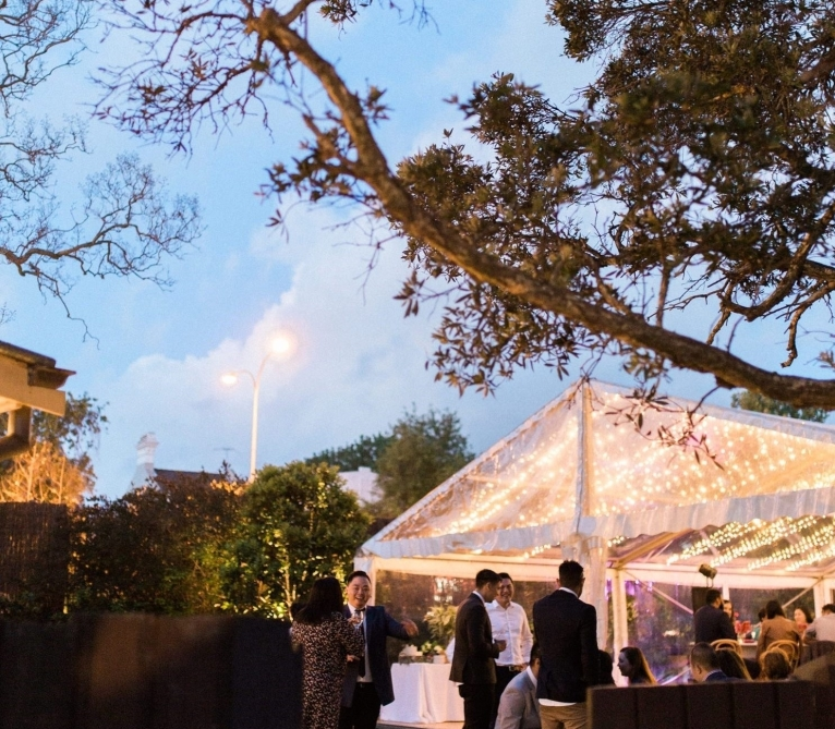 Alice & Peter's Garden Wedding at The Superintendents. Photo: We Are Origami Photography.